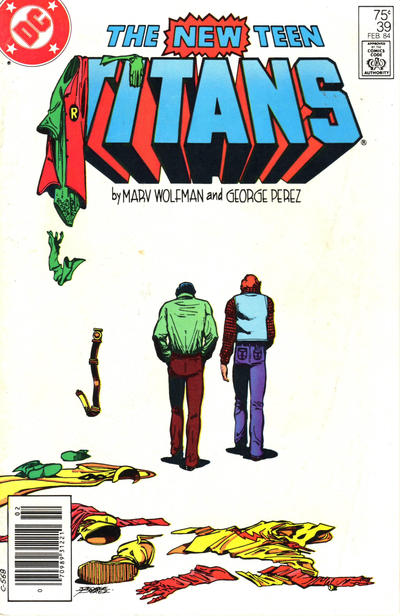 Cover for The New Teen Titans (DC, 1980 series) #39 [Canadian]