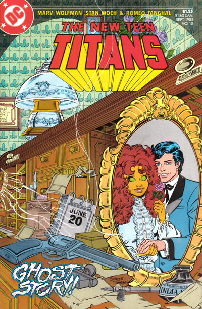 Cover for The New Teen Titans (DC, 1984 series) #12