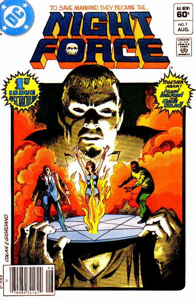 Cover for The Night Force (DC, 1982 series) #1 [Direct Sales]