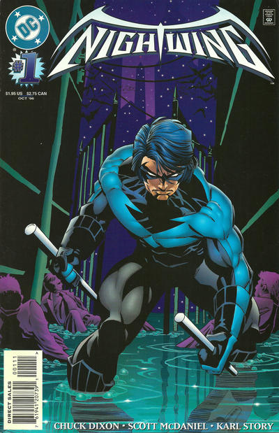 Cover for Nightwing (DC, 1996 series) #1