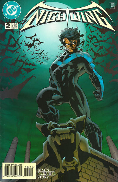 Cover for Nightwing (DC, 1996 series) #2