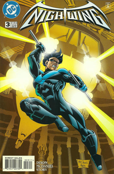 Cover for Nightwing (DC, 1996 series) #3