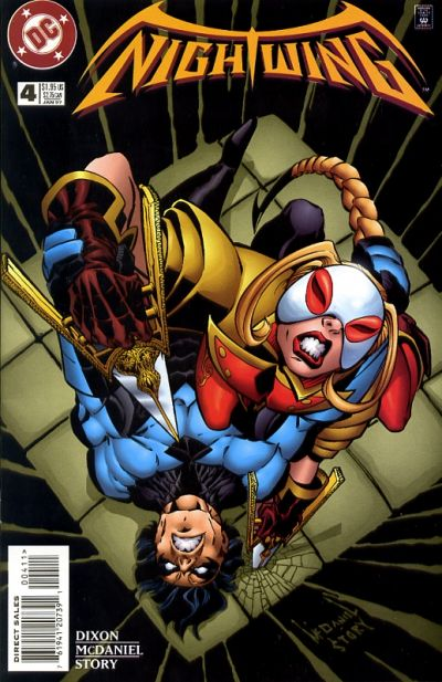 Cover for Nightwing (DC, 1996 series) #4