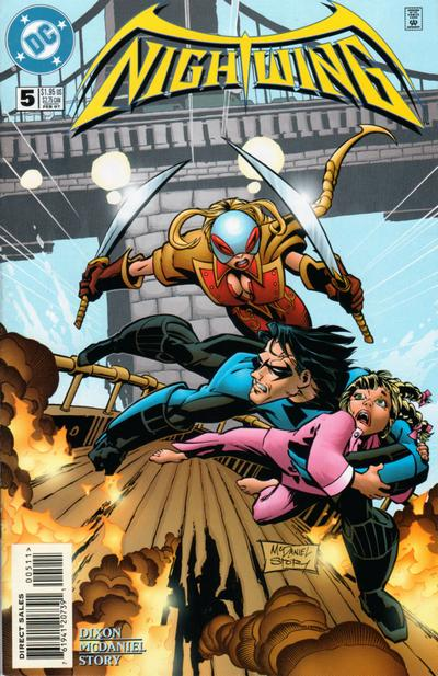Cover for Nightwing (DC, 1996 series) #5
