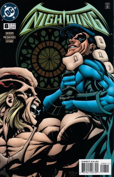 Cover for Nightwing (DC, 1996 series) #8