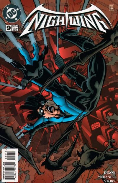 Cover for Nightwing (DC, 1996 series) #9