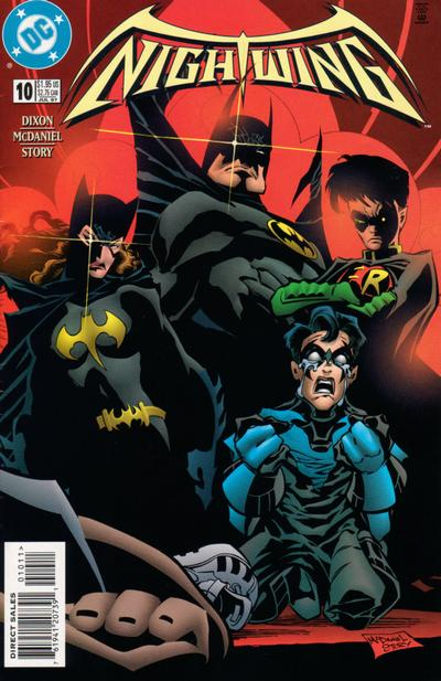 Cover for Nightwing (DC, 1996 series) #10