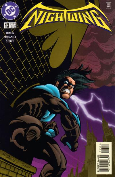 Cover for Nightwing (DC, 1996 series) #13