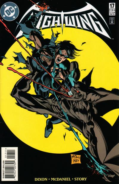 Cover for Nightwing (DC, 1996 series) #17