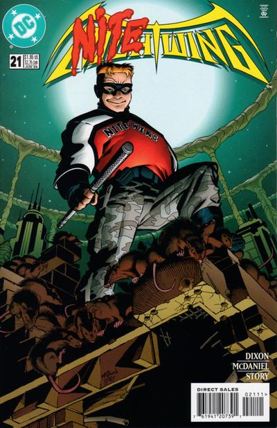 Cover for Nightwing (DC, 1996 series) #21