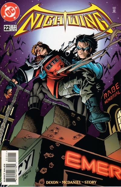 Cover for Nightwing (DC, 1996 series) #22
