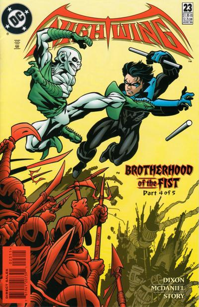 Cover for Nightwing (DC, 1996 series) #23