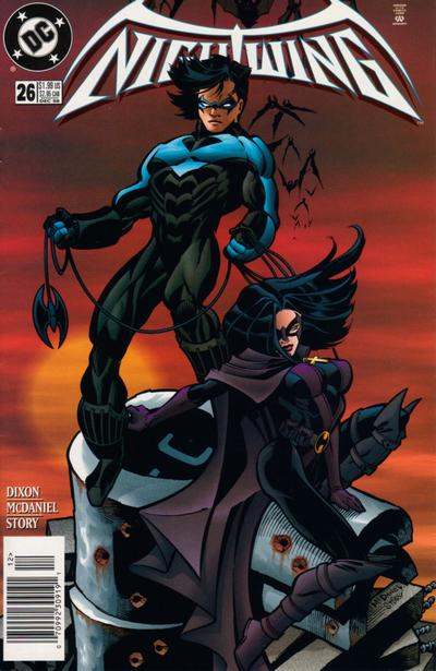 Cover for Nightwing (DC, 1996 series) #26
