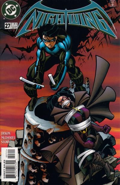 Cover for Nightwing (DC, 1996 series) #27