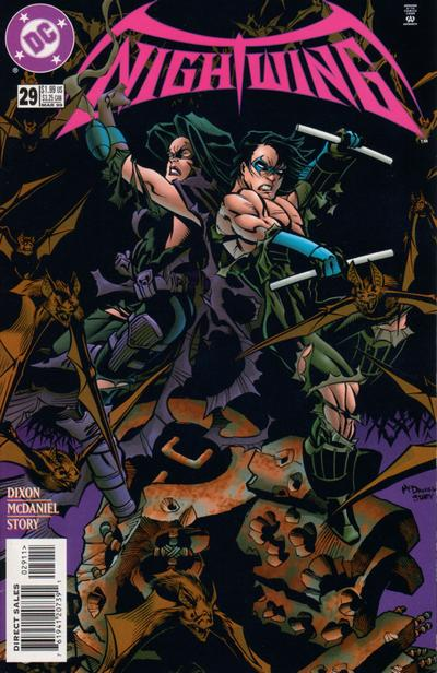 Cover for Nightwing (DC, 1996 series) #29