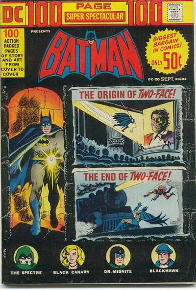 Cover for 100-Page Super Spectacular (DC, 1973 series) #DC-20