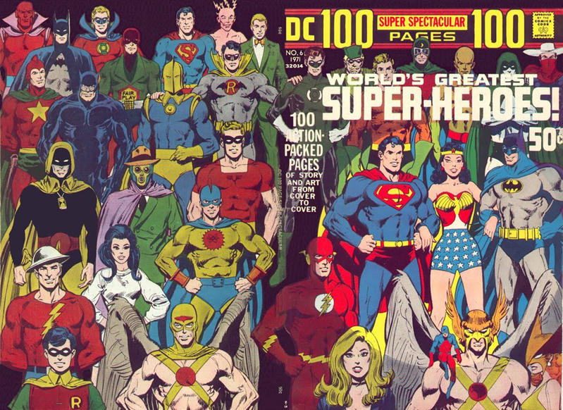 Cover for DC 100-Page Super Spectacular (DC, 1971 series) #6