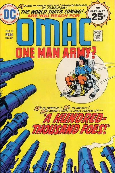 Cover for OMAC (DC, 1974 series) #3