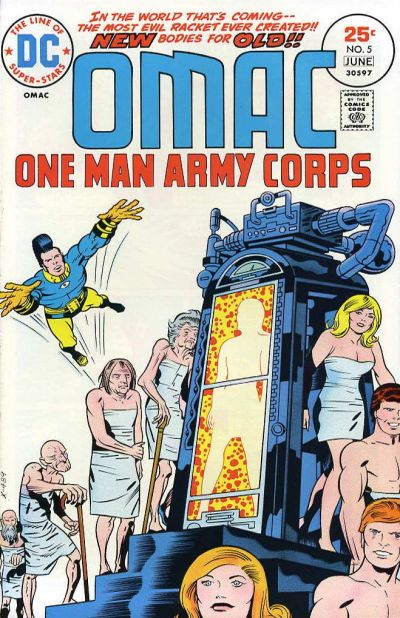 Cover for OMAC (DC, 1974 series) #5