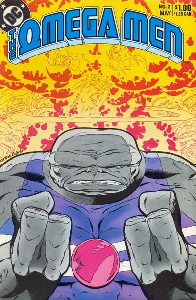 Cover for The Omega Men (DC, 1983 series) #2