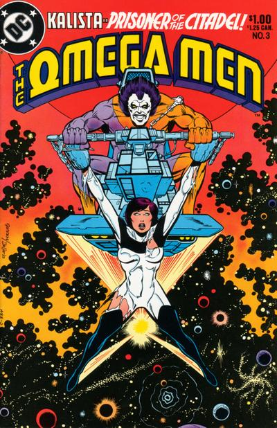 Cover for The Omega Men (DC, 1983 series) #3