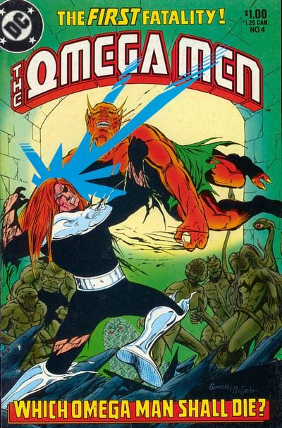 Cover for The Omega Men (DC, 1983 series) #4