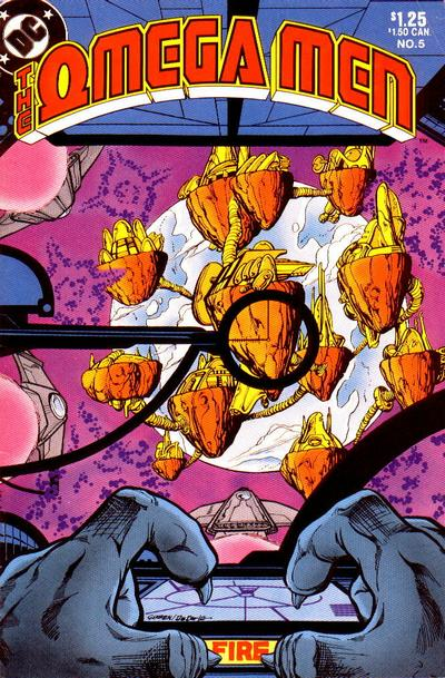 Cover for The Omega Men (DC, 1983 series) #5