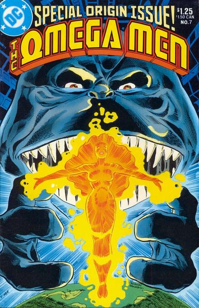 Cover for The Omega Men (DC, 1983 series) #7