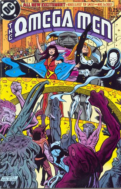 Cover for The Omega Men (DC, 1983 series) #8