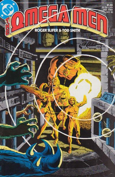 Cover for The Omega Men (DC, 1983 series) #10