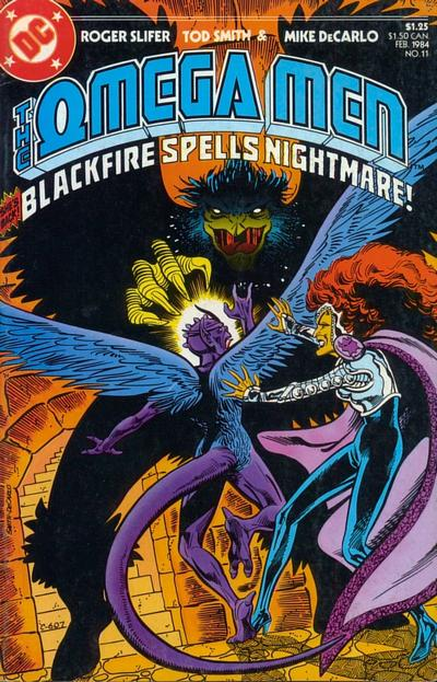 Cover for The Omega Men (DC, 1983 series) #11