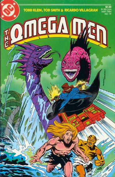 Cover for The Omega Men (DC, 1983 series) #14
