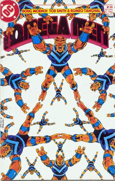 Cover for The Omega Men (DC, 1983 series) #17