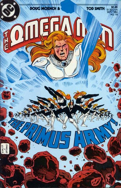 Cover for The Omega Men (DC, 1983 series) #18