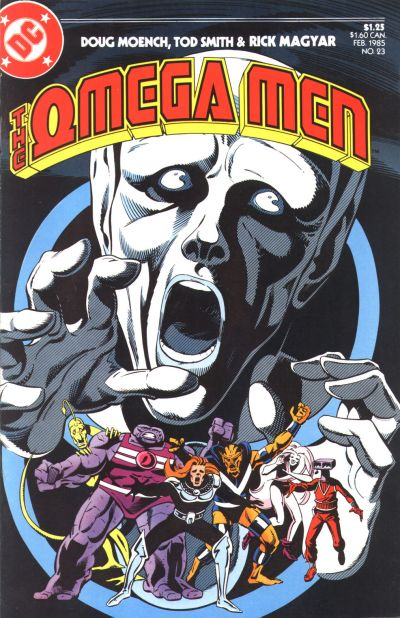 Cover for The Omega Men (DC, 1983 series) #23