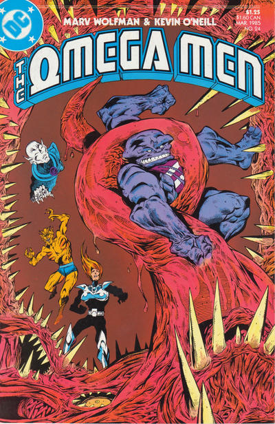 Cover for The Omega Men (DC, 1983 series) #24