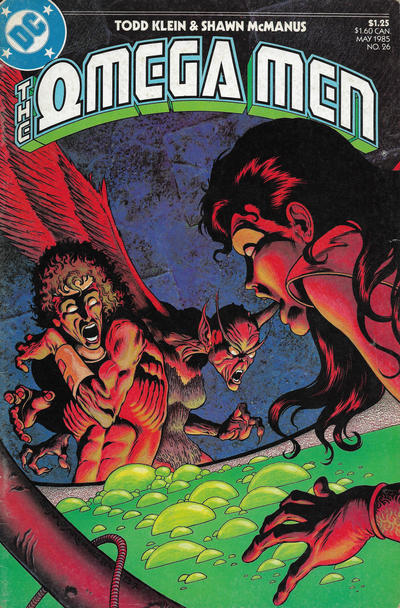 Cover for The Omega Men (DC, 1983 series) #26