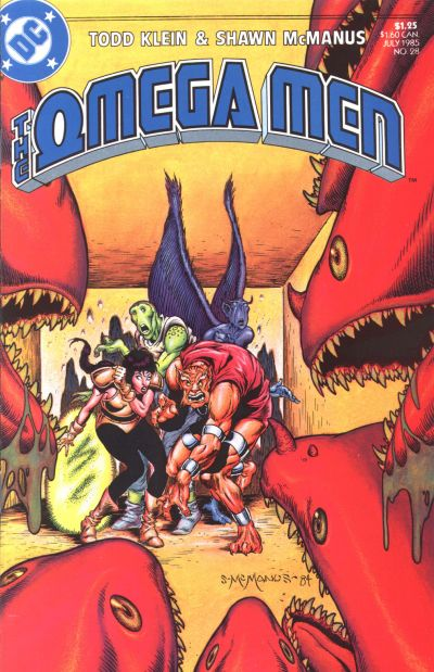 Cover for The Omega Men (DC, 1983 series) #28