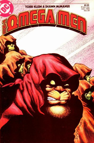 Cover for The Omega Men (DC, 1983 series) #29