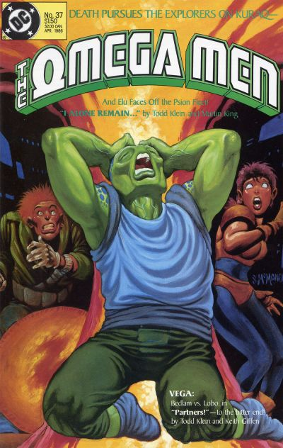 Cover for The Omega Men (DC, 1983 series) #37