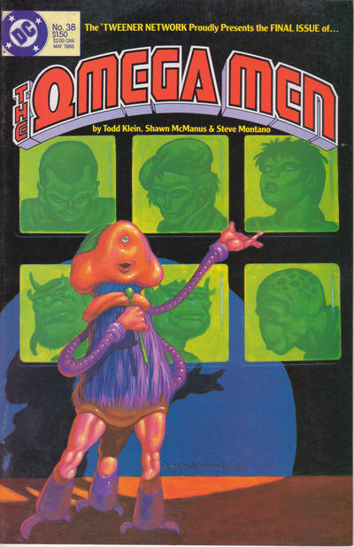 Cover for The Omega Men (DC, 1983 series) #38