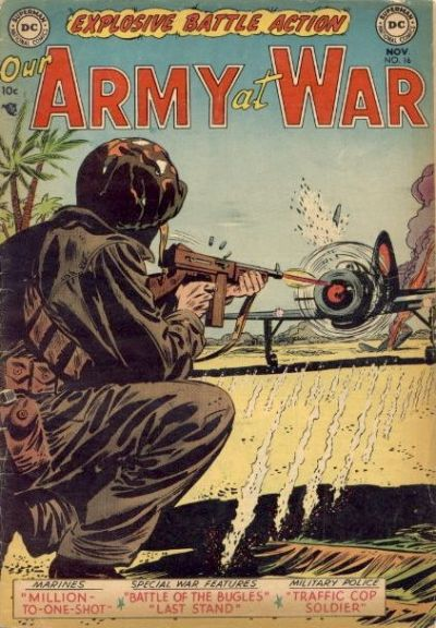 Cover for Our Army at War (DC, 1952 series) #16