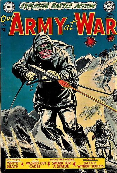 Cover for Our Army at War (DC, 1952 series) #17