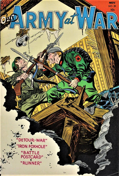 Cover for Our Army at War (DC, 1952 series) #28