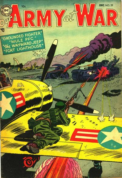 Cover for Our Army at War (DC, 1952 series) #29