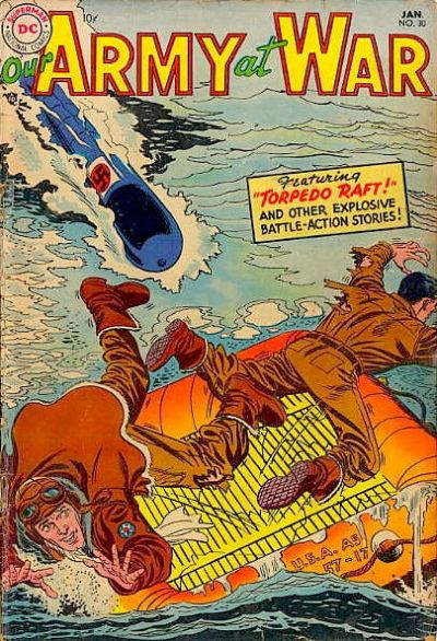 Cover for Our Army at War (DC, 1952 series) #30