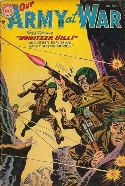 Cover for Our Army at War (DC, 1952 series) #31