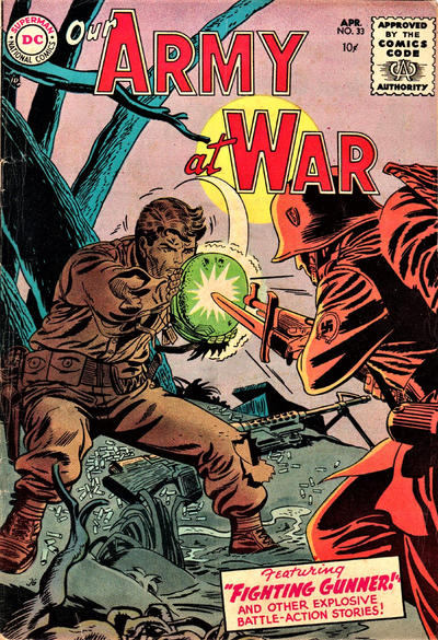 Cover for Our Army at War (DC, 1952 series) #33
