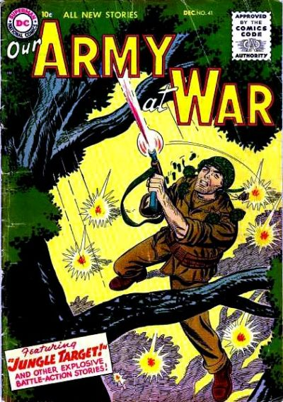 Cover for Our Army at War (DC, 1952 series) #41