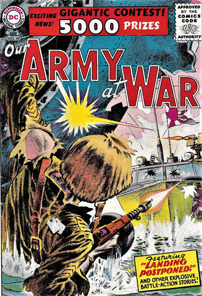 Cover for Our Army at War (DC, 1952 series) #49